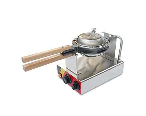 110V/220V Egg Puff Bubble Electric Oven QQ Egg Waffle Maker Baking Machine 1kw (110V USA plug) by JYNbaking (Image #1)