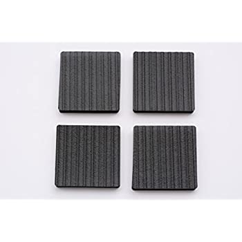 Great Lil Grippers Square Furniture Pads   Keep Furniture Where It Belongs! (3  Inch)