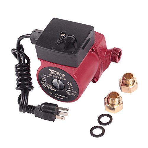 Hot Water 3-Speed Circulation Pump Circulator Pump (Watts Hot Water Recirculating Pump)