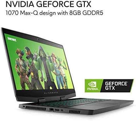 Alienware m15 Gaming Laptop 15.6 inch FHD, 8th Generation Intel Core i7-8750H, NVIDIA GeForce GTX 1070 Max-Q design, 128GB SSD + 1TB HDD, 16GB RAM, Windows 10 home – Epic Silver (AWm15-7861SLV-PUS) 41KxuEkGz4L