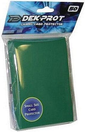 YuGiOh D Dek Prot Flat Gaming Card Sleeves Ivy Green 50 Count Games