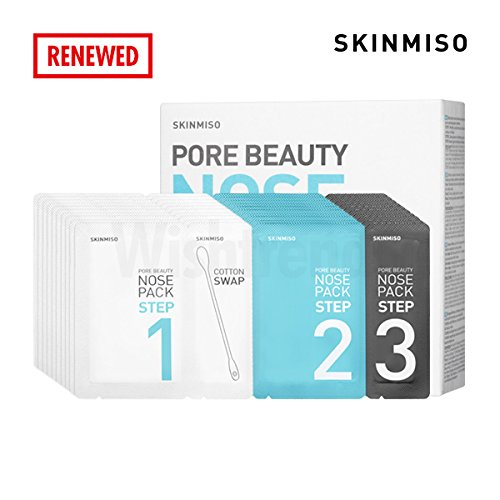 [SKINMISO] Pore Beauty Nose Pack, blackhead remover, 10 sheets
