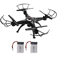 HP95(TM) Remote Control Quadcopter 2.4G RC Drone With 300W Wifi FPV HD Camera+Extra Battery