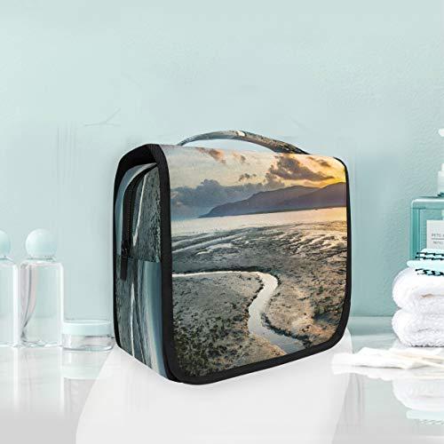 Cosmetic Makeup Toiletry Bag Travel Beautiful History Ocean -