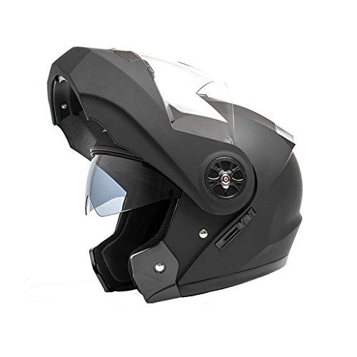 Casco de la motocicleta del casco de la cirugía estética universal de cuatro estaciones para hombre y para mujer (Color :...