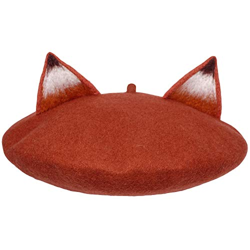 Nick Fox Ear Beret Hat...