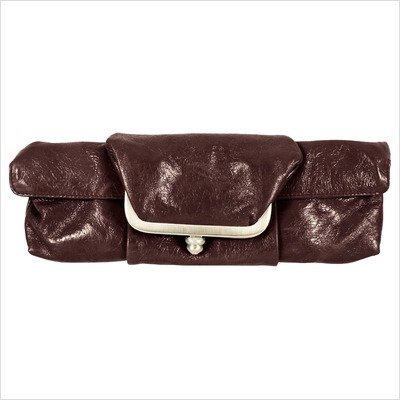 Mimi in Memphis Barbi Framed Clutch Color: Putty