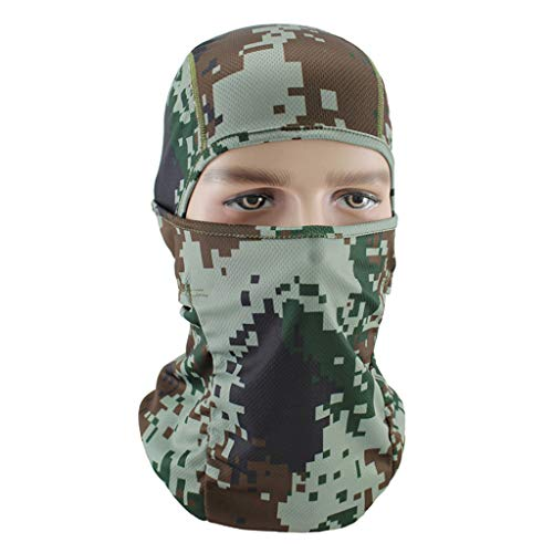 - Naladoo Neck Gaiter Fishing Mask Bandana, Sun Wind Dust Protection UV Face Shields Headwear Magic Scarf for Men Women Hunting, Cycling, Motorcycling, Running