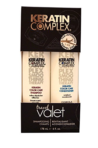 Keratin Complex Color Care Shampoo 3oz & Conditioner 3oz Travel Valet