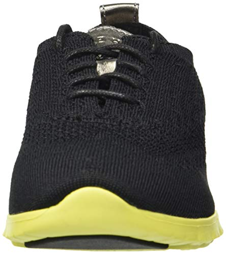 Women's Knit Cole Haan Spring Knit sulpher Black Sneaker Winterized Zerogrand Z5qPwxfp5