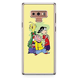 Loud Universe Ed Edd and Eddie Samsung Note 9 Case Cute Thief Samsung Note 9 Cover with Transparent Edges