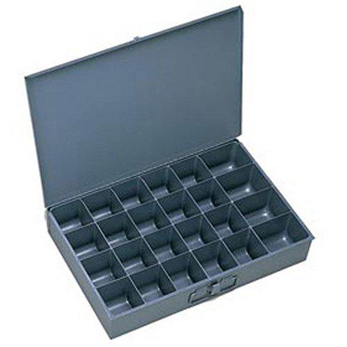 [해외]DURHAM 컴 파트먼트 박스 - 13-1 4x9-1 4x2 - (24) 컴 파트먼트 - 고정 디바이더 포함 - 6 로트/DURHAM Compartment Box - 13-1 4x9-1 4x2  - (24) Compartments - With Fixed Dividers - Lot of 6
