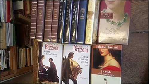 Amazon Fr Lot De 13 Livres Juliette Benzoni Les