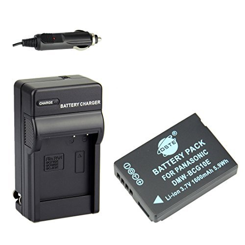 DMW BCG10 DMW BCG10E Battery Panasonic DMC ZS10