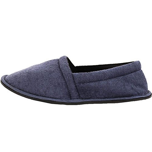 Slip on Slippers Easy USA Blue Men's House Terry AfxfgwUPn