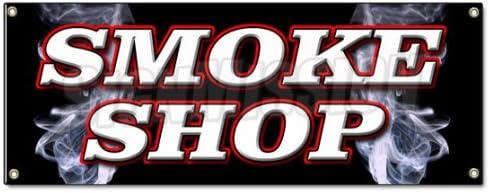 MOTORCYCLE AUDIO INSTALLATION Advertising Vinyl Banner Flag Sign SMOKE SHOP