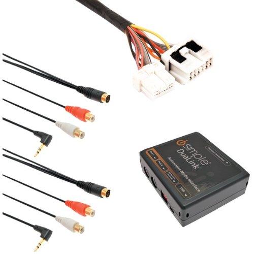 iSimple ISNI531 Dual Auxiliary Audio-Input Interface (For select Nissan/Infiniti) ()