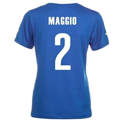 Puma MAGGIO #2 Italy Home Jersey World Cup 2014