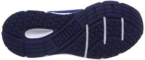 Puma Unisex-Kinder Engine Jr Low-Top Blau (Blue Depths-Black)