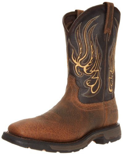 Square Boots Workhog Large Mesteno Toe Ariat Work fHqU0xS
