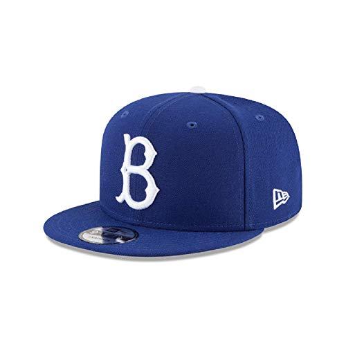 Era New Brooklyn Dodgers (New Era 9Fifty Brooklyn Dodgers Basic Snapback Hat (Royal Blue) Men's MLB Cap)