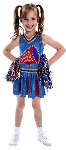 Girls Cheerleader Costume - Small (4-6)