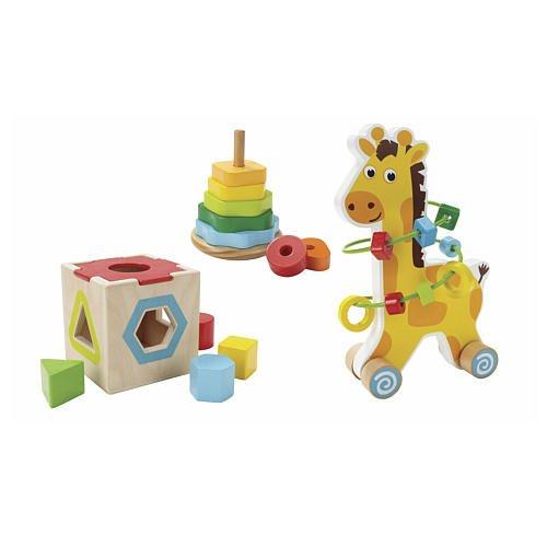 Imaginariumクラシック木製玩具トリオ   B00O72889M