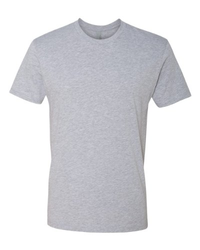 eve Crew Tee, 1+1 Heather Grey, M (1x1 Rib Crew Tee)