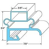 Delfield 1702001-NS Door Gasket 15-1/2'' X 20-5/8'' Screw Mount Magnetic For Delfield 1702001Ns 741015