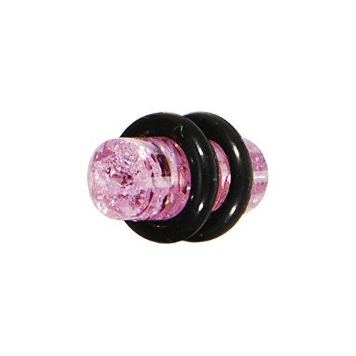 4 Gauge Pink Unfinished Plug (