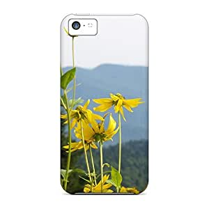 [IirLEZY7659HJnlf] - New Rocky Mountain Daisies Protective Iphone 5c Classic Hardshell Case