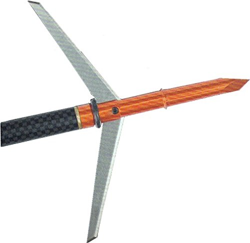 Dead Ringer Super Freak Extreme X Bow Series Broadhead Arrow 100 Grain 2 Blade with 2.75'' Blade by Dead Ringer