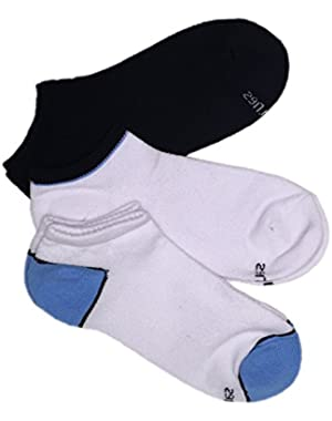Hanes Full Mesh Women's Low-Cut Athletic Socks 3-Pack # 580/3