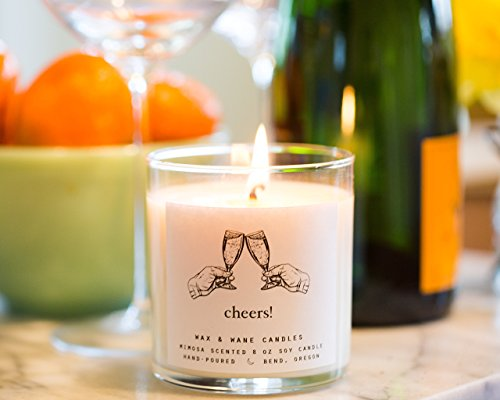Cheers Mimosa Scented Soy Candle