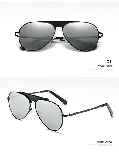 UV Protección Aviator Hombre 400 para para Sol C2 De C1 Mujer Polarizadas Gafas 8qCzwan