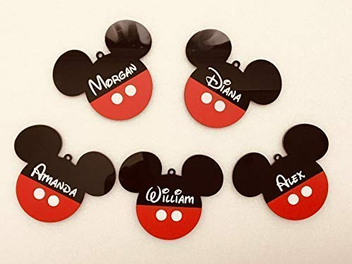 MICKEY MOUSE PERSONALISED ANY BIRTHDAY BANNER ANY SINGLE NAME