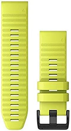 Garmin Quickfit Watch Band Vented Carbon Gray Titanium Bracelet