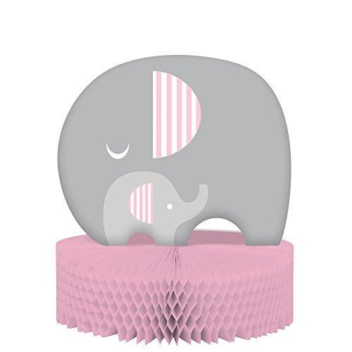 Shower Little Elephant Honeycomb Centerpiece