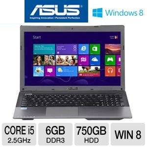 ASUS A55A-TH52 15.6″ Core i5 750GB HDD Laptop, Best Gadgets
