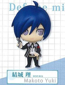 Persona 3 the Movie Super Deformed Mini Figure Keychain - Makoto (Super Deformed Mini Figure)