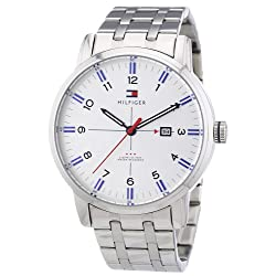 Tommy Hilfiger George Silver Dial Stainless Steel Mens Watch 1710327