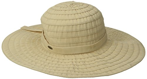 scala-womens-sewn-ribbon-crusher-hat-with-trim-natural-one-size