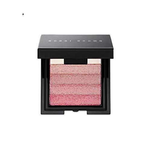 Pink Shimmer Brick - Bobbi Brown Mini Shimmer Brick Compact in Rose for Women 0.14 oz/ 4 g