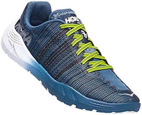 Hoka One Evo Rehi - Zapatillas de running para hombre, color azul: Amazon.es: Zapatos y complementos