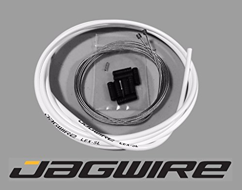 JAGWIRE MOUNTAIN SHOP KIT - Shifter / Derailleur Cable & Housing Kit - WHITE - SRAM/Shimano (Derailleur Shifter Cable)