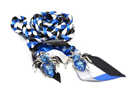 Spider Goth Pagan Wedding Handfasting Cord ~ Wiccan ~ Divinity Braid ~ Celtic Knot ()