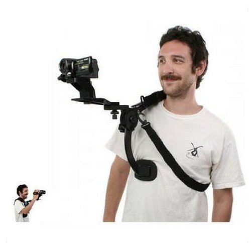 Camcorder Shoulder Brace - Shoulder Support Pad for Camcorder and Camera Shoulder Bracket Brace Stabilizer chenfa