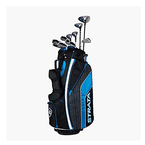 Callaway Men's Strata Ultimate Complete Golf Set (16-Piece, Right Hand, Steel) (Best Iron Set For Beginners 2019)