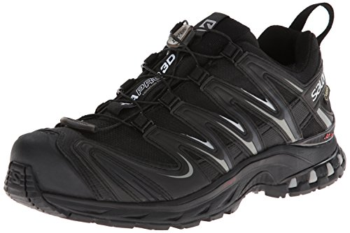 Salomon Men's XA Pro 3D GTX Trail Running Shoe,Black/Blac...