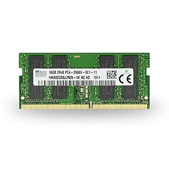 Image of Adamanta 16GB (1x16GB) Laptop Hynix Memory Upgrade Compatible for Lenovo Legion, ThinkCentre, Thinkpad, Thinkstation & Yoga DDR4 2666Mhz PC4-21300 SODIMM 2Rx8 CL19 1.2v P/N: 4X70R38791 RAM DRAM Memory